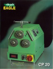 Eagle CP 20 Brochure - Sterling Machinery