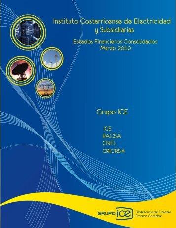 I Trimestre 2010 - Grupo ICE