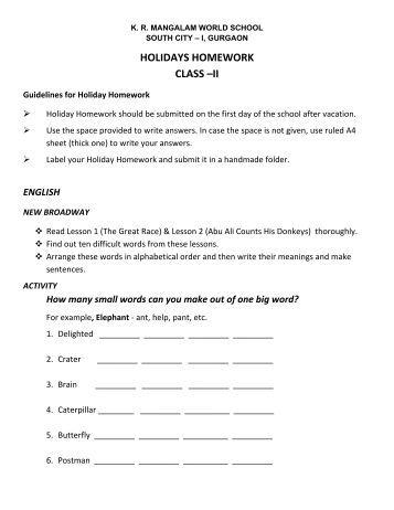 class xi summer vacation assignment