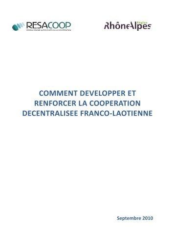 Télécharger la publication - La CNCD - Commission Nationale de la ...