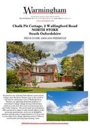 Chalk Pit Cottage, 2 Wallingford Road NORTH ... - Warmingham