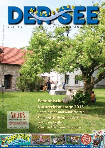 Pannonische Naturerlebnistage 2013 - Der See