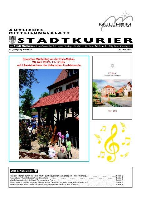 Mllheim im Markgrflerland - Freizeitgestaltung - Stadt