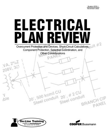 Overcurrent Protection and Devices, Short-Circuit Calculations ...