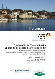 Einladung und Programm - Swiss German Club