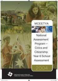 2004 Civics and Citizenship school release materials - NAP