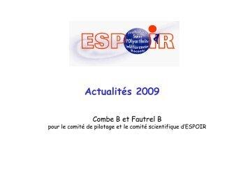 1 Centre de coordination - La cohorte ESPOIR