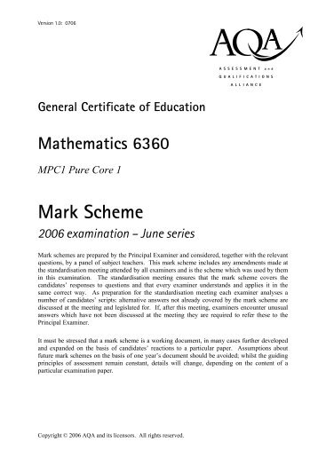 c3 june 13 mark scheme mei