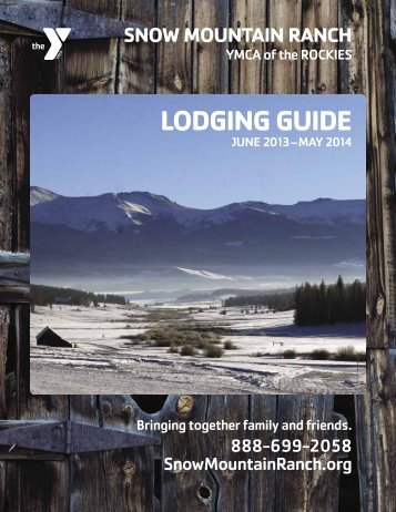 lodging guide - YMCA of the Rockies