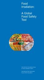 Food Irradiation: A Global Food Safety Tool - International Food ...