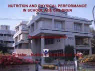 Dr-Prema: Nutrition And Physical Performance In School Age Children