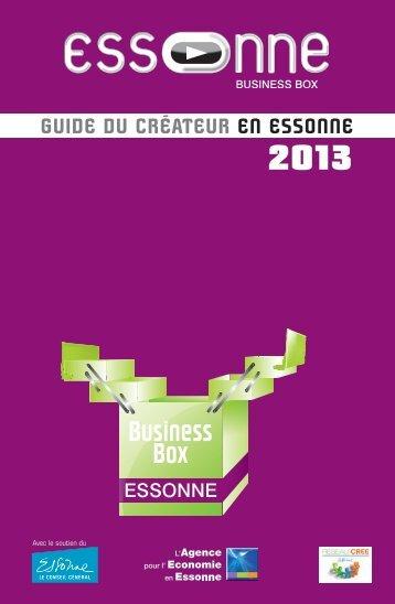 2013 Guide du créateur eN eSSONNe - Agence pour l'économie en ...
