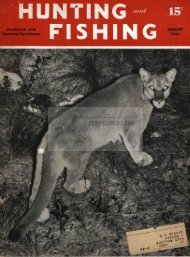 Hunting and Fishing Magazine, August 1944 - Cornell Publications