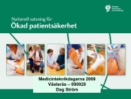 Medicinteknikdagen den 28 september 2009 i Västerås