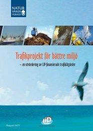 Trafikprojekt för en bättre miljö - spolander consulting