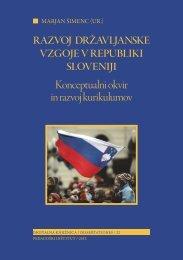 Razvoj državljanske vzgoje v Republiki Sloveniji - Pedagoški inštitut