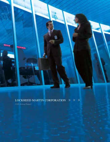 2005 Lockheed Martin Annual Report