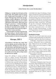 Våroljeväxter Vårraps, OS7-1 - SLU