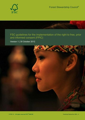 FSC guidelines for the implementation of the right to ... - Unredd.net