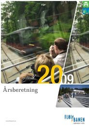 Fløibanen AS - årsrapport 2009 - Bergen kommune