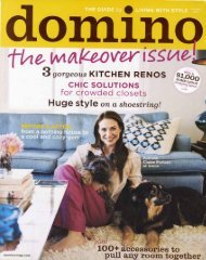 Domino Magazine October 2006 - Timothy Whealon