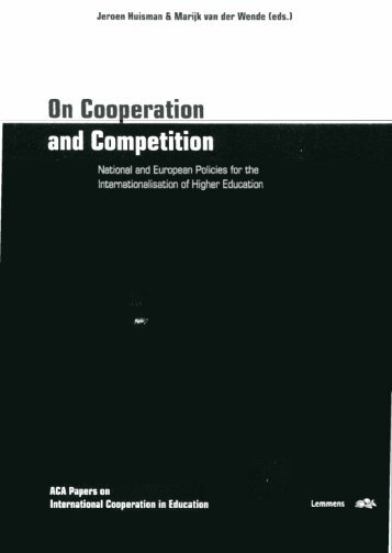 On Cooperation - Higher Education Policy Network