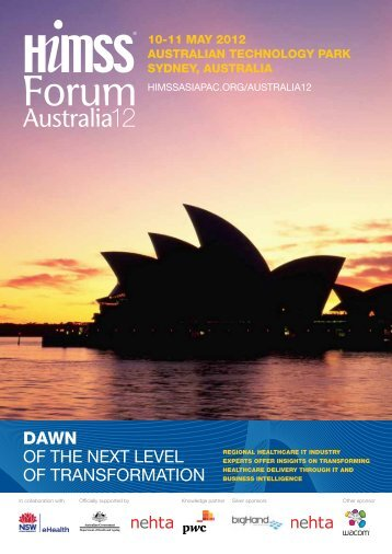 Download Forum Brochure - HIMSS AsiaPac