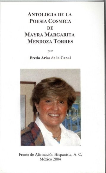 antologia de la poesia cosmica de mayra margarita mendoza torres