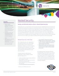 Hosted Security - XO Communications