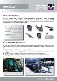 Odvětví TransportPDF, 765,24 kB - Welser Profile AG