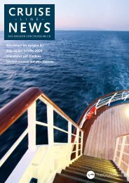 Magazin! - The Cruise Line AG