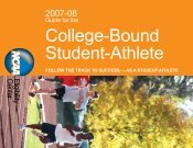 2007-08 Guide for the College-Bound Student-Athlete - South Africa