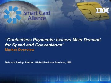 """Contactless Payments: Issuers Meet Demand for Speed and ..."