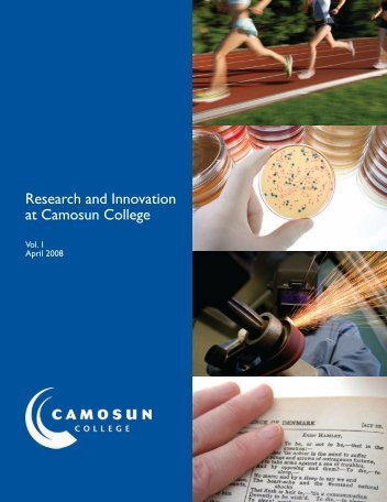 Research and Innovation at Camosun College