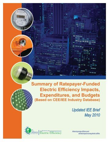 Based on CEE/IEE Industry - Edison Foundation