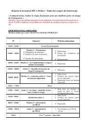 Réunion de formation DPC à Poitiers – Palais des congrès du ...