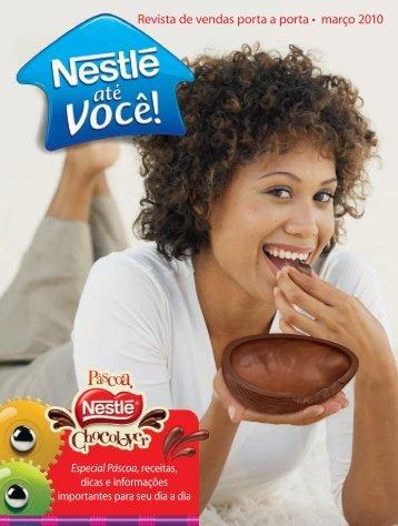 Revista de vendas porta a porta • março 2010 - Nestlé