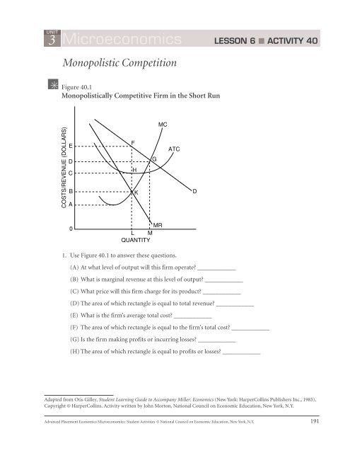 3 Microeconomics