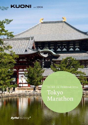 Tokyo Marathon 2014 - Kuoni Reisen