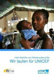 Wir laufen für UNICEF - Kinderwelt-Bewegungswelt.de