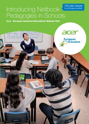 Introducing Netbook Pedagogies in Schools - European Schoolnet