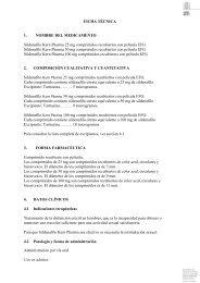 FICHA TÉCNICA 1. NOMBRE DEL MEDICAMENTO ... - KERN Pharma