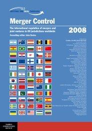 GTDT_Merger Control 2007.pdf - Bowman Gilfillan Attorneys
