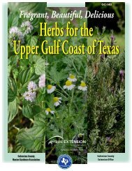 Herb Book+.indd - Aggie Horticulture - Texas A&M University