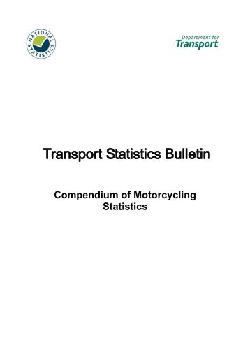 Compendium of Motorcycling Statistics: 2008 Edition ... - Right To Ride