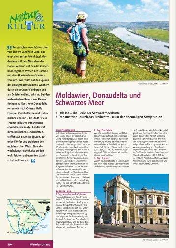 Moldawien, Donaudelta und Schwarzes Meer - Wikinger Reisen ...