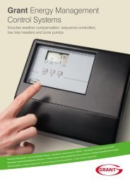 Grant UK Energy Management Controls - March 2013