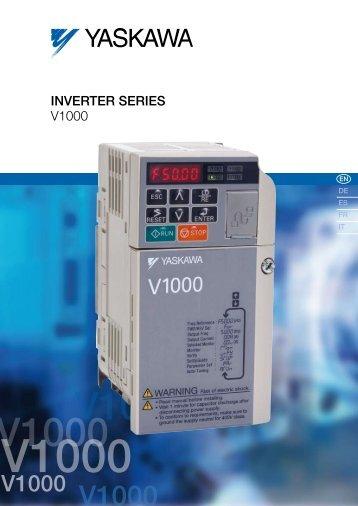 INvERTER SERIES V1000
