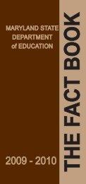 The Fact Book - Washington County, MD Public Schools