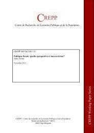 Politique fiscale: quelles perspectives à moyen terme?